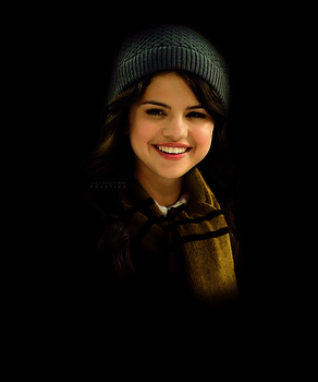 Selena Gomez as Hufflepuff by PoketJud