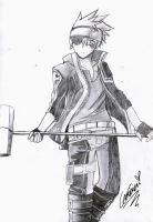 Lavi - Protector by leo22334455