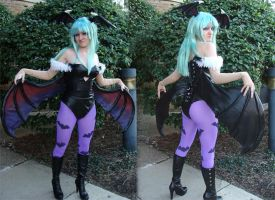 Morrigan Costume by Interstella5