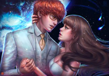 Let's marry at the space station by serafleur