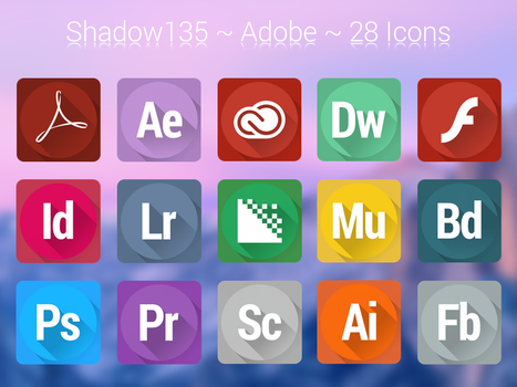 Shadow135 ~ Adobe Icons by BlackVariant
