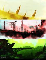 Quick painting: Places by UltraLiThematic