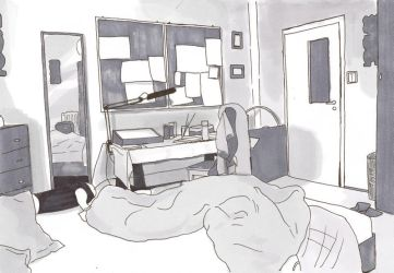 Part of my room by keiolge