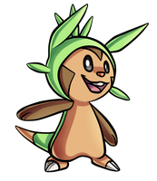 Chespin by PrinceofSpirits