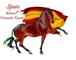 Horse Hetalia: Spain by MUSONART