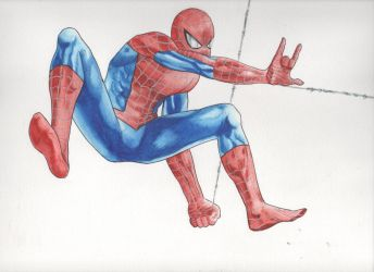 Your Friendly Neighborhood Spider-Man by Menco