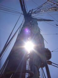 Sunlight in the Rigging by SirJames314