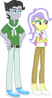Commission - EqG Jet Set and Upper Crust by SketchMCreations