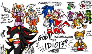 Shadow - Surrounded by IDIOTS. by ojamajodoremidokkan