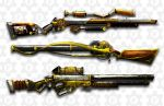 steampunk rifles by FROSTconcepts
