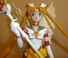 Eternal Sailor Moon - Close Up by paintingbyjackie