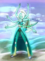 Variscite - an Opal and Peridot fusion by Odme1