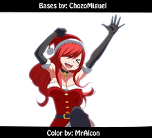 Erza - Merry Chritsman by MrAlcon