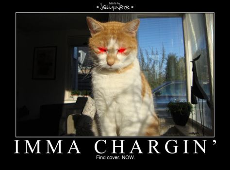 IMMA CHARGIN' - Demotivational by JellyN8TR