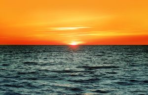 sunset on Baltic Sea by all17