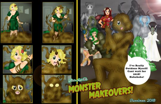 Monster Makeovers Finale by DannimonDesigns