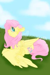 Another fluttershy by princessketch