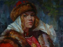 Russian princess by Olga-Tereshenko