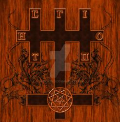 Cross of the Harlot and the Beast [Azoth Tempel] by Moribvnd