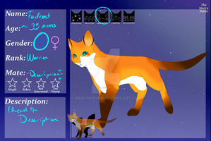 Foxfrost for The Starry Paths by DrakynWyrm