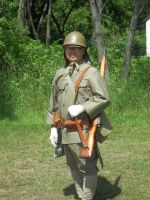 Japanese Soldier by WestytheTraveler