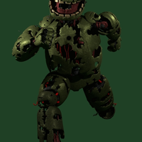 Springtrap Run Cycle (GIF) by TheClassyPlushtrap
