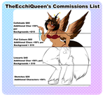 2017-2018 COMMISSIONS SHEET [CLOSED] by TheEcchiQueen