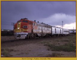 Storm Coming I by classictrains