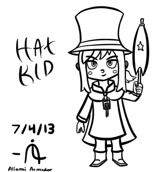 Hat Kid! (A Hat in Time) by TheAliami