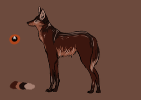 Maned Wolf Point Adopt Auction -CLOSED- by nihtgield