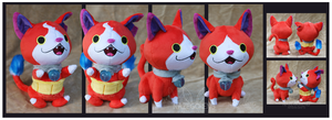 Jibanyan Custom plushes by Nazegoreng