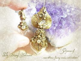 Preview New Collection of Fairy-Ethnic Vials by EnchantedTokenArt