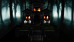 MMD Haunted House PerformStage by SachiShirakawa