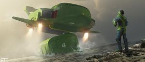 Thunderbird 2: Man and Machine by Chrisofedf