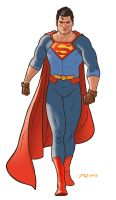Superman 'New 52' Redesign by quin-ones