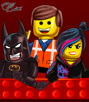 The Lego Movie by MrBigTheArtist