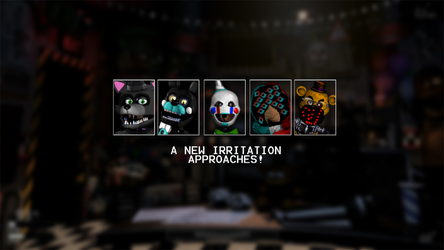 FNBD 2 | Guess 5 new characters | Compeleted by Leoking08