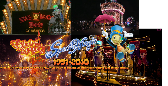 The Magic Worlds Of Disney.. In SpectroMagic! by andrea525