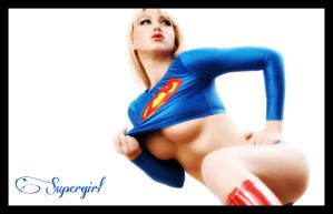 supergirl wallpaper by alubb77