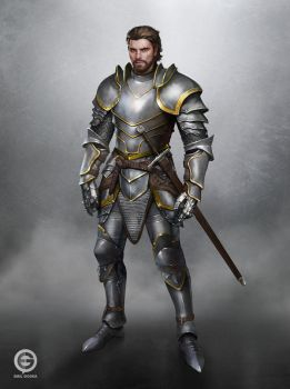 Knight Concept by EmilGoska