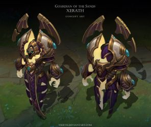 Guardian of the Sands Xerath by Yideth