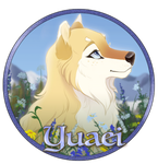 Yuaei Pup Medallion by Tazihound