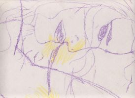 Idea sketch Love Is Abstract 2 by holyguyver
