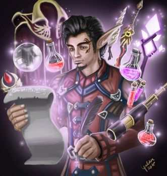 The Magister's Inventory by Galder