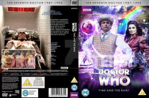Doctor Who Time and the Rani Custom DVD Cover by GrantBattersby