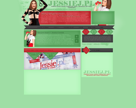 JessieJ - (Wordpress theme) - Not used. by camilledezign