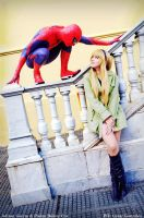 The Amazing Spiderman - Gwen Stacy by Pinkie-Bunny-Cosplay
