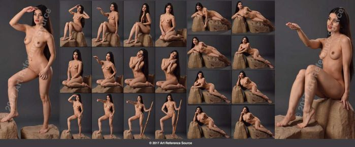 Stock:  Noella 20 Fantasy Nudes by ArtReferenceSource