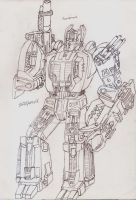 Masterpiece/Ultimate Scorponok by UnicronHound