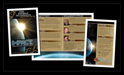 Impact Conference Brochure by ecpowell